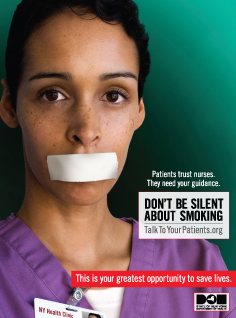 Don't be silent about smoking